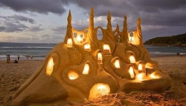 Замки из песка, которые поразят ваше воображение