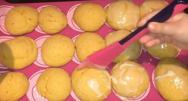 тыквенное печенье с имбирем