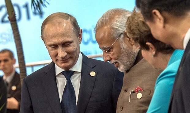 Владимир Путин открывает новую Индию