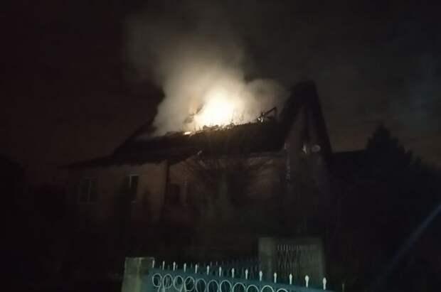 Трое детей пострадали при пожаре в Подмосковье
