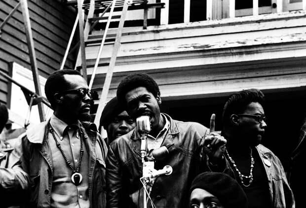 Социальные конфронтации в США 1960-х - 1970-х годов: Леворадикальная Партия черных пантер   (14)