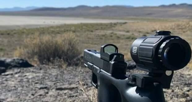 Попасть из пистолета в цель на дистанции в 2 километра: мировой рекорд