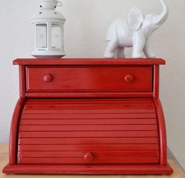 Мебель... из хлебниц (подборка)