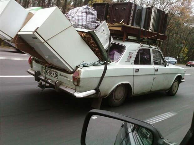 Впихнуть невпихуемое: как увезти на машине все и сразу?