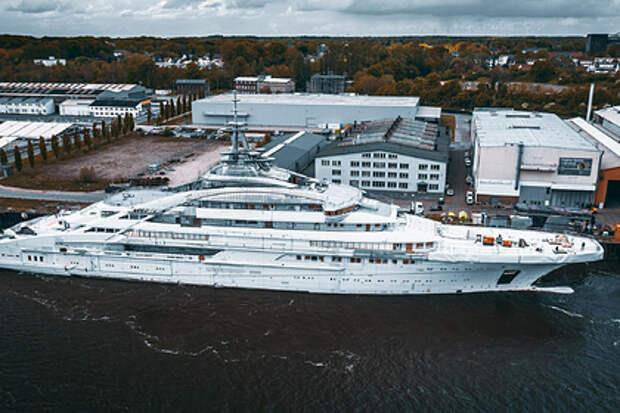 Для российского миллиардера построили 142-метровую суперъяхту