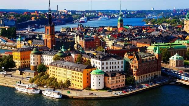 Привет из Швеции!