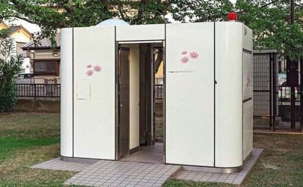 Городские туалеты в Японии (трафик)