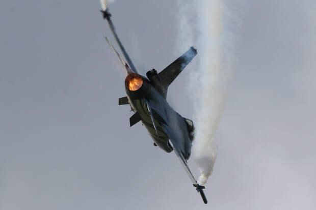 В США разбился истребитель F-16 Национальной гвардии