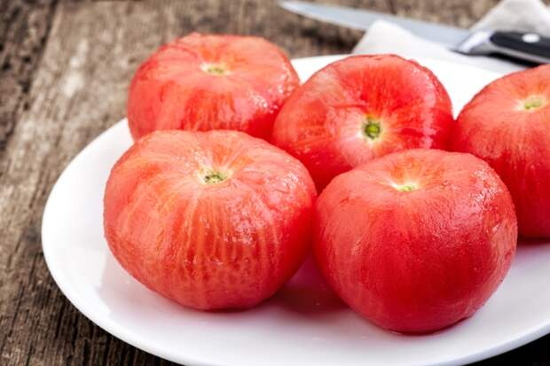 помидоры на зиму без рассола