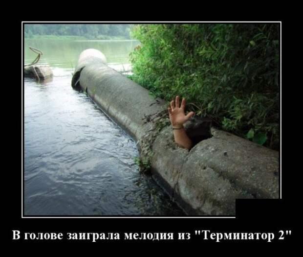 Демотиватор про Терминатора