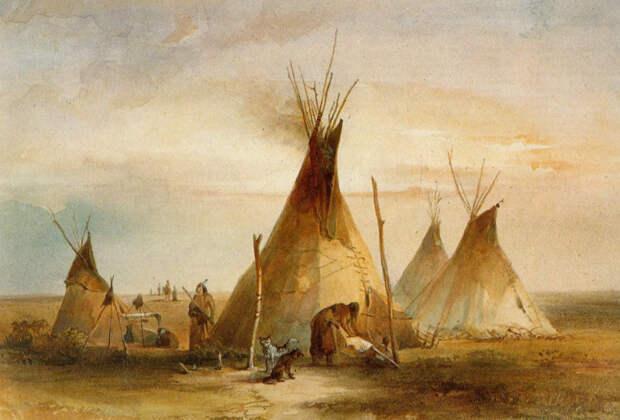 Индейцы жили в вигвамах? Ошибка Фенимора Купера