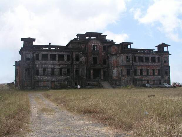 отель призрак КАмбоджа