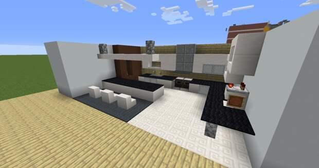✦ Hi Tech интерьер для дома в minecraft ✦