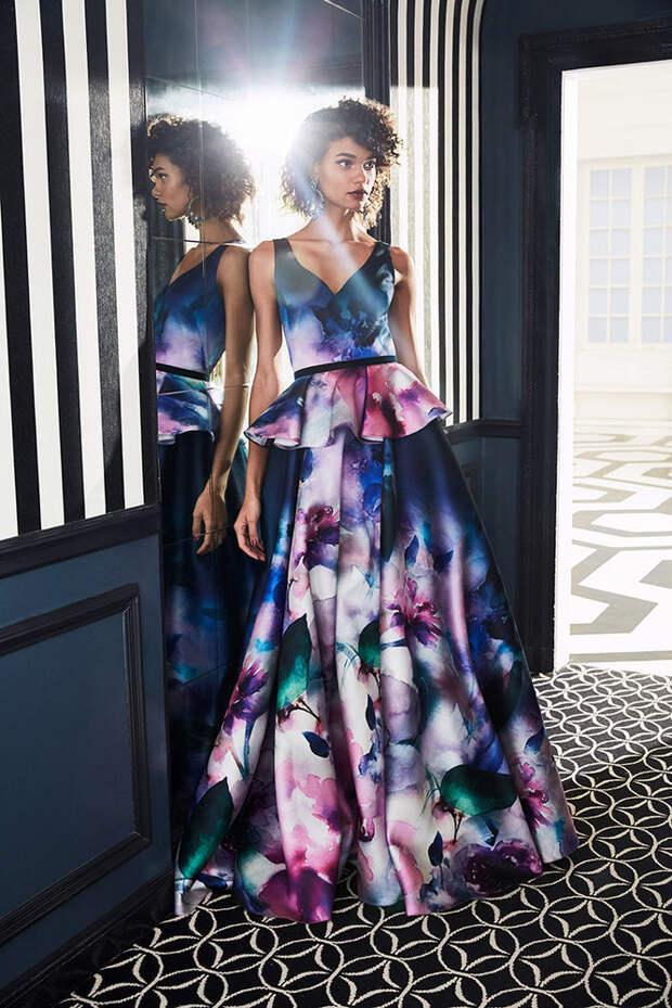 Маркиза драмы: модная коллекция Marchesa Notte осень 2019, фото № 9
