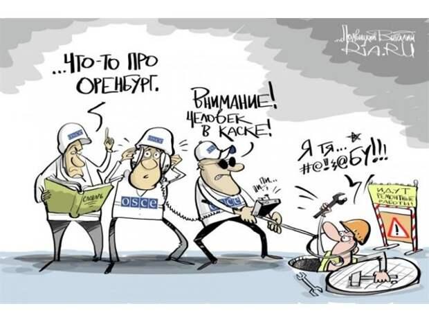 Мониторинговая миссия ОБСЕ подыгрывает Киеву из-за политического заказа. Факты и доказательства