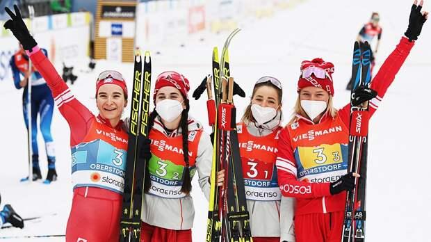 Русские лыжницы - сильнейшие в мире среди людей
