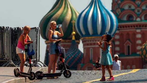 До 25 градусов тепла ожидается в Москве