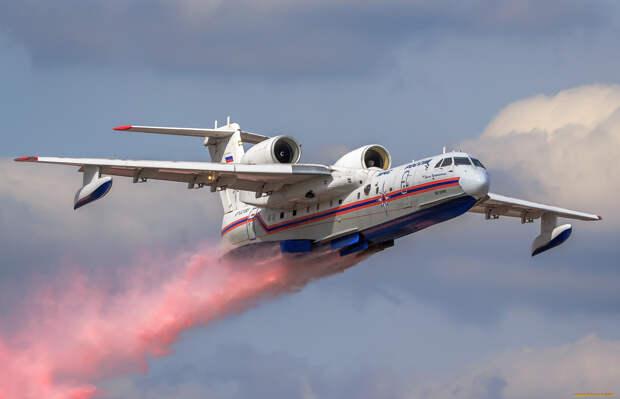 Турки перепугались из-за опасных маневров русских Бе-200ЧС