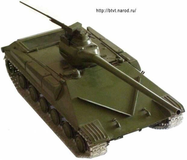 Советская «Армата» из 1970-х. Проект танка Т-74