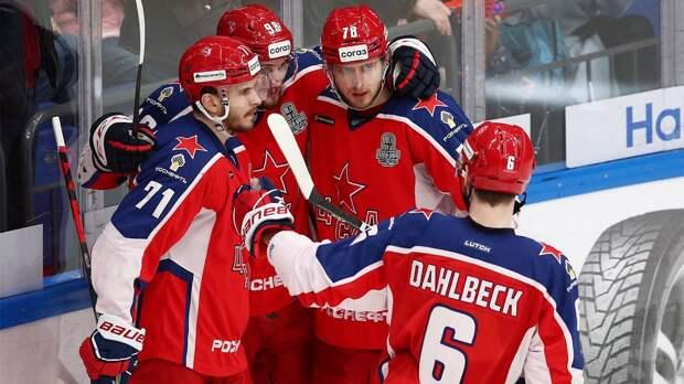 ЦСКА одержал вторую победу в серии над СКА в полуфинале Кубка Гагарина