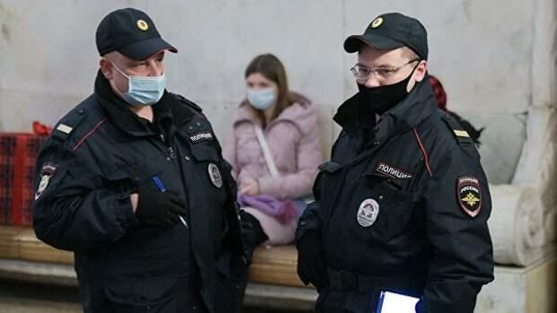 """В Москве по требованию полиции закрыли вестибюль станции """"Воробьевы горы"""""""