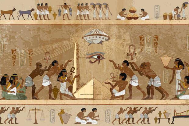 Роль НЛО в истории человечества