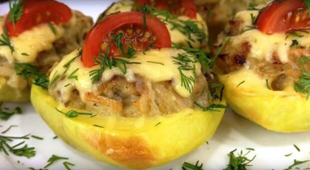 Жульен в картофеле — это беспроигрышный вариант!