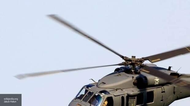 Вертолет армии США потерпел крушение на севере Сирии