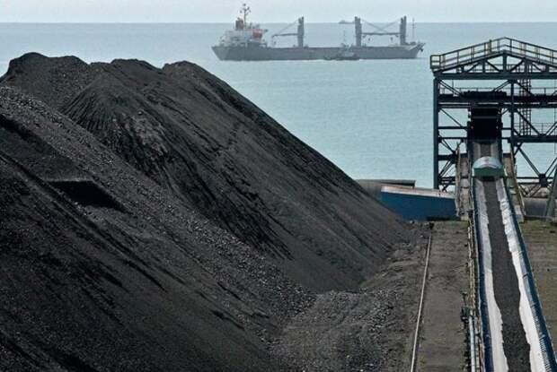 уголь РФ