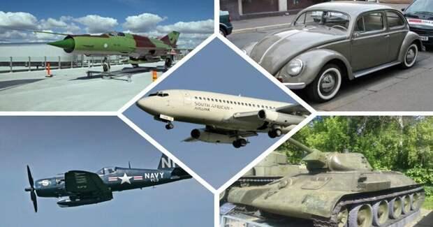 Те случаи, когда не можешь остановиться: самая массовая техника автомобили, вертолёты, самое массовое, самое-самое, самолёты, техника