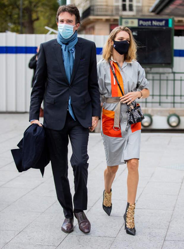 Наталья Водянова, Антуан Арно, Джорджина Родригес и другие гости показа Louis Vuitton