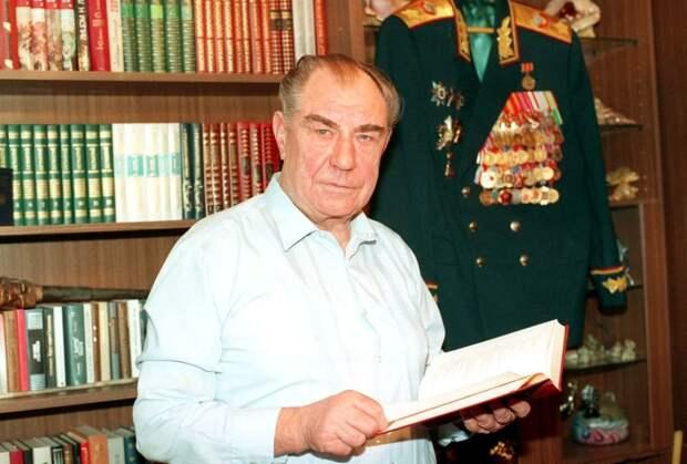 Маршал Советского Союза Дмитрий Тимофеевич Язов. Фото: ТАСС