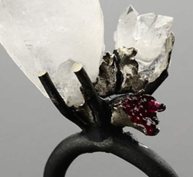 Кольца из резины и серебра (подборка)