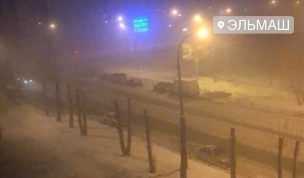 Наедкий дым инеприятный запах пожаловались жители Екатеринбурга