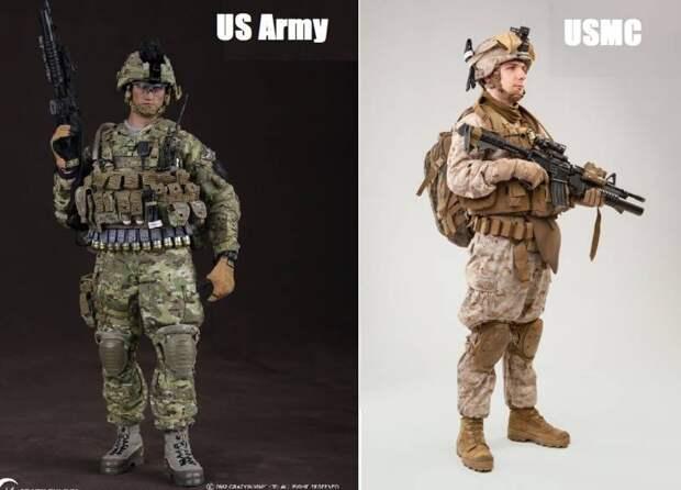 Дьявольские псы. Корпус морской пехоты США