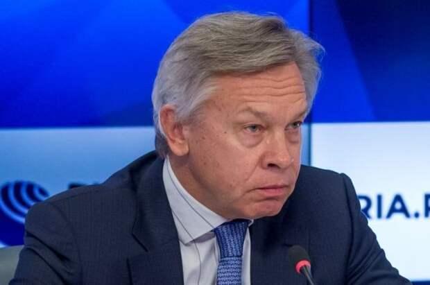 Пушков ответил болгарским пользователям, которые предрекли РФ проигрыш НАТО