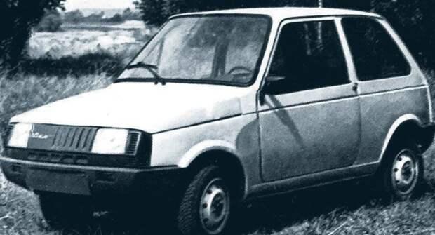 Как СМЗ и НАМИ разрабатывали «Оку» — прототип 1982 года