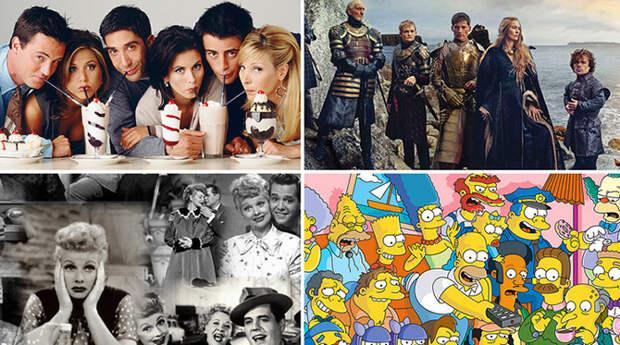 Названы 10 лучших сериалов всех времен