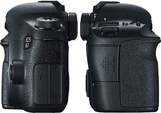 EOS 6D — новая бюджетная полнокадровая зеркальная камера Canon