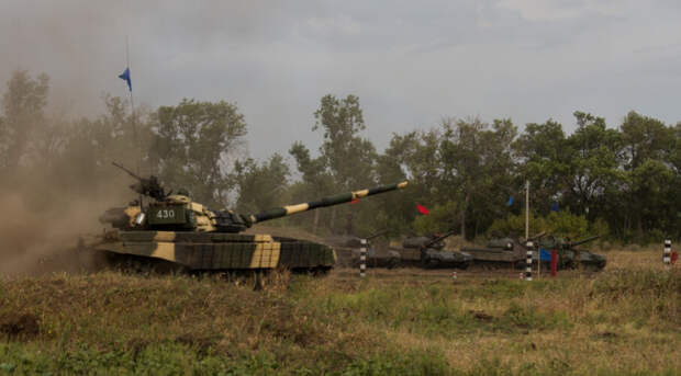 Киев открыл огонь из пушек по окраинам Донецка