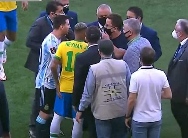 ФИФА пока не вынесла вердикт в отношенииБразилии и Аргентины