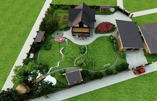 Красивые сады в сибири