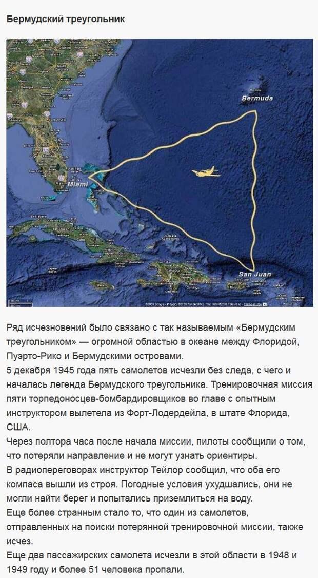 Таинственные исчезновения самолётов (7 фото)
