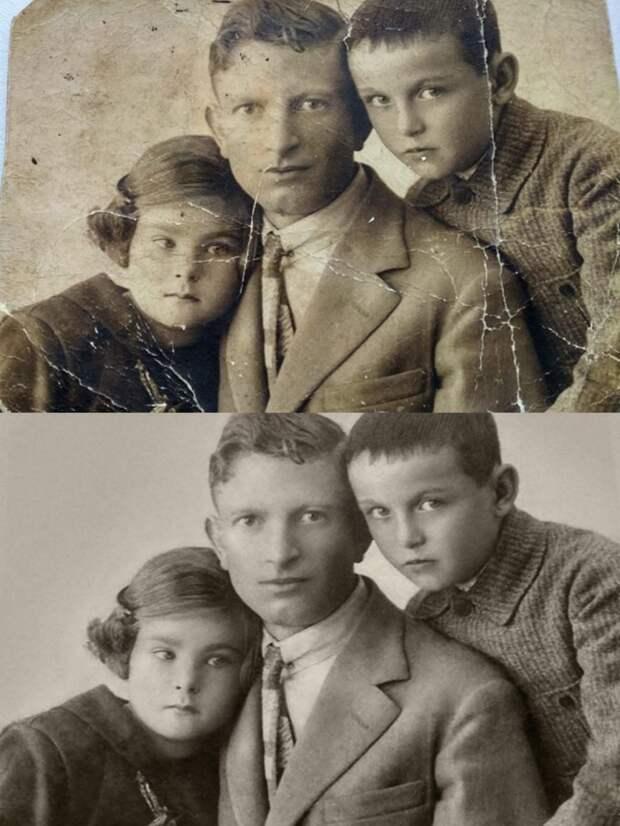 6 офигенных примеров очень крутой реставрации фотографий