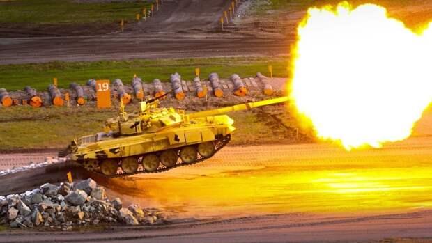 Названы танки, которые охраняют Белоруссию от вторжения НАТО