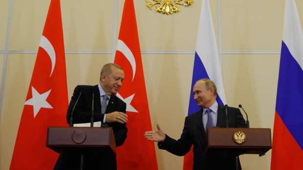 Hurriyet: Эрдоган рассчитывает принять «важные решения» на встрече с Путиным в Сочи