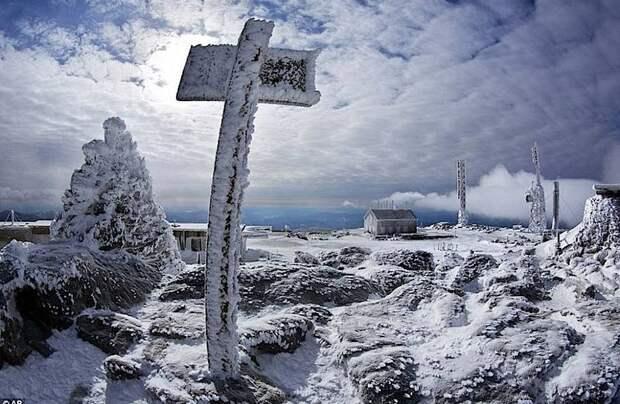 Не Северный полюс и не Антарктида: почему на горе в США самая скверная погода в мире