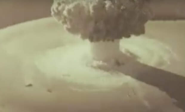 Тест советской атомной торпеды: видео