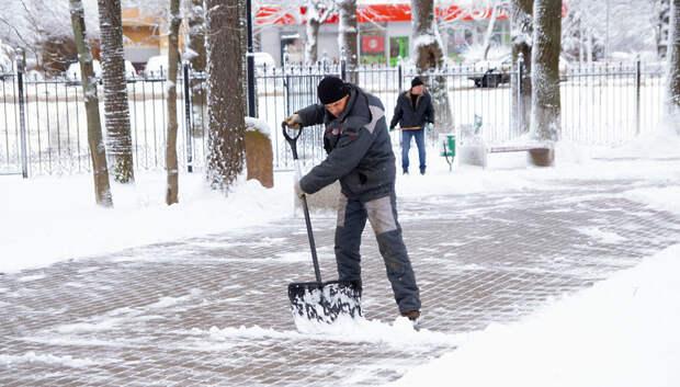 111 нарушений по уборке территорий от снега устранили за день в Подольске