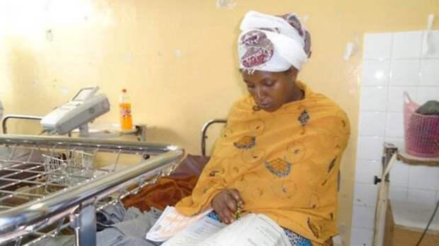Девушка из Эфиопии сдала школьные экзамены через полчаса после родов